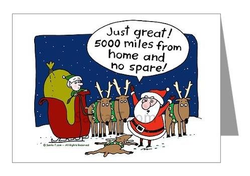 Funny christmas cards santa greeting card santa joke m4hsunfo