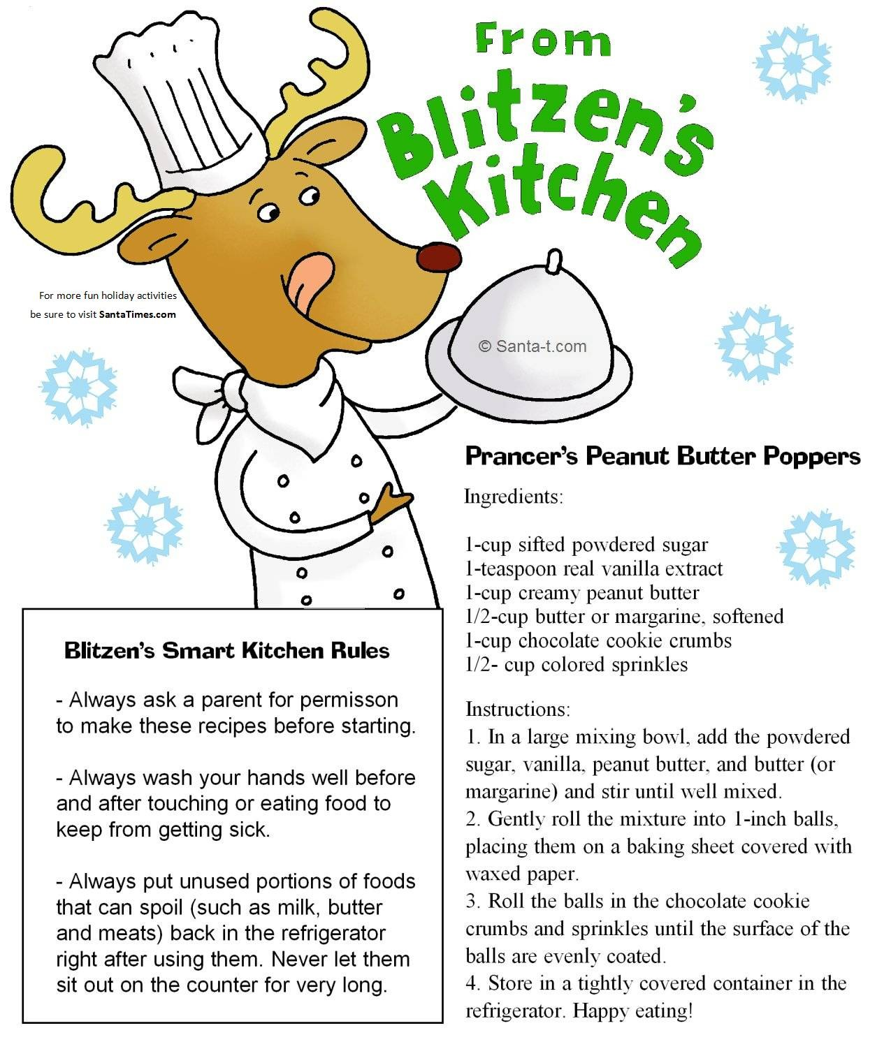 Recipes from Blitzen's Kitchen
