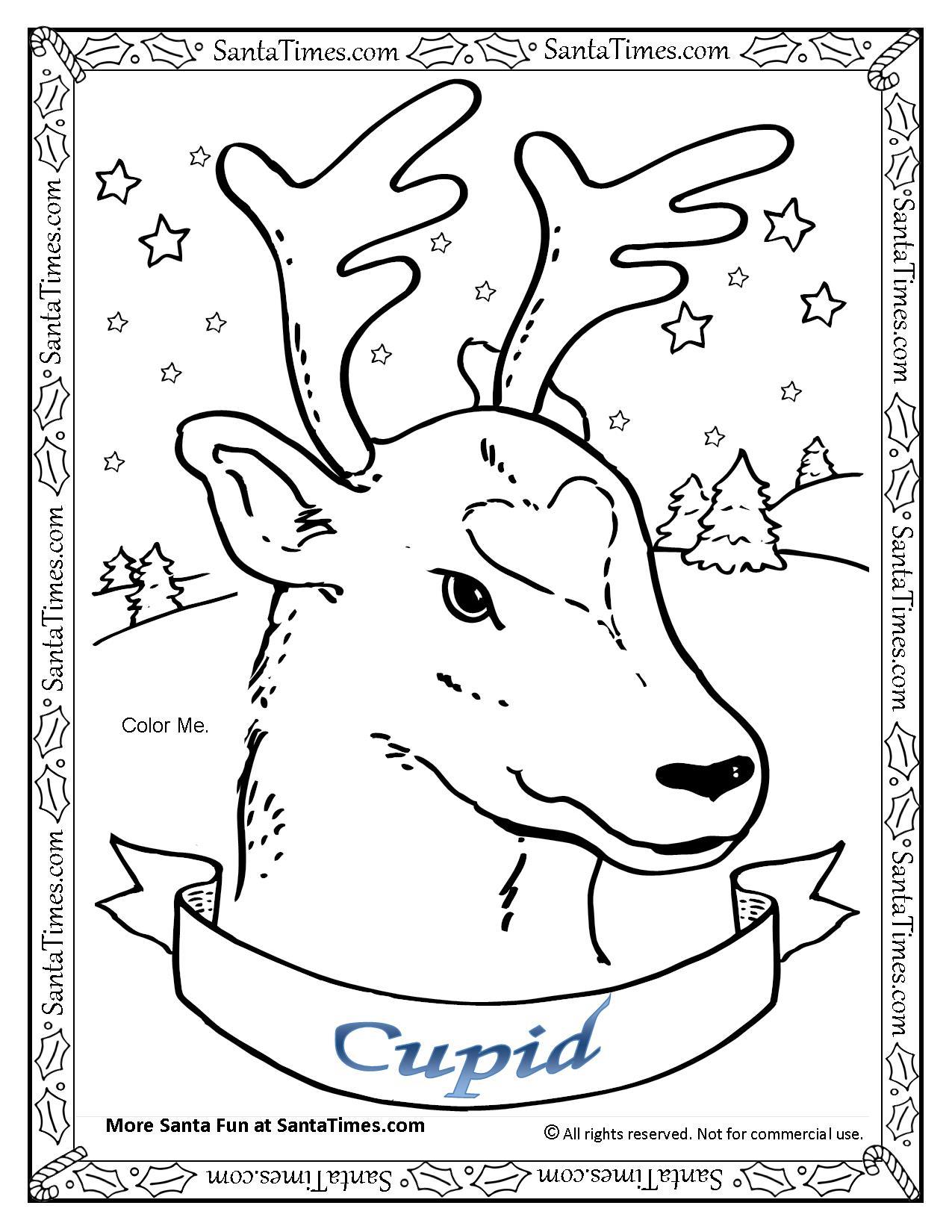 Cupid the Reindeer