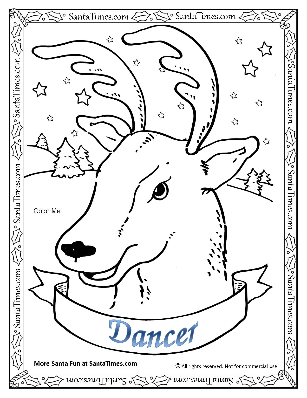 Dancer The Reindeer