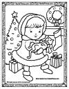 Merry Kitty coloring page link
