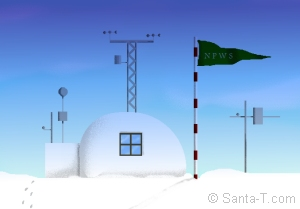 North Pole Weather Statio