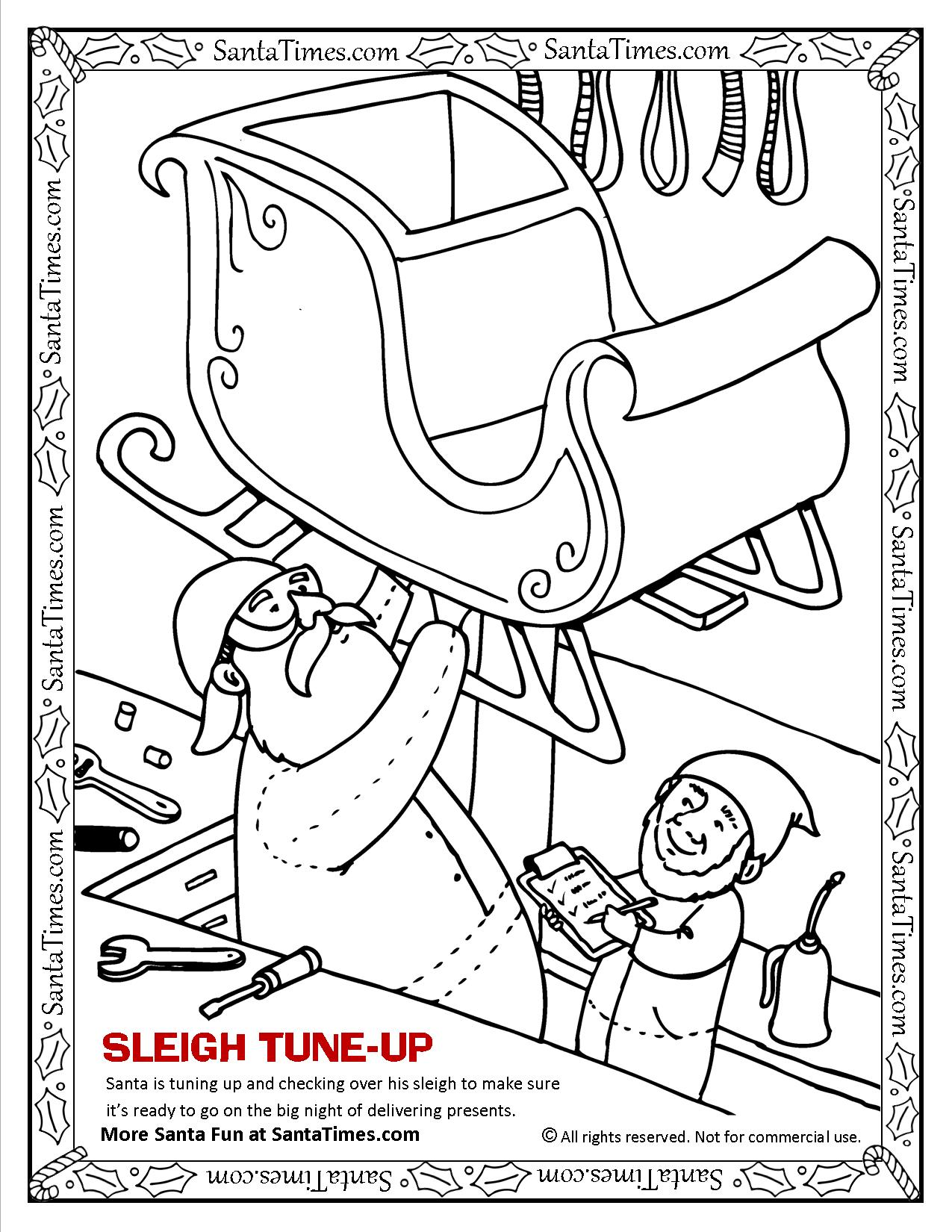SLEIGH TUNE-UP