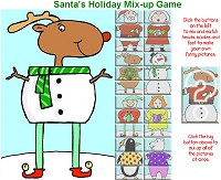 Play Santa's Holiday Mix-up Game