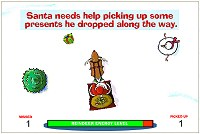 Help Santa pick up some presents